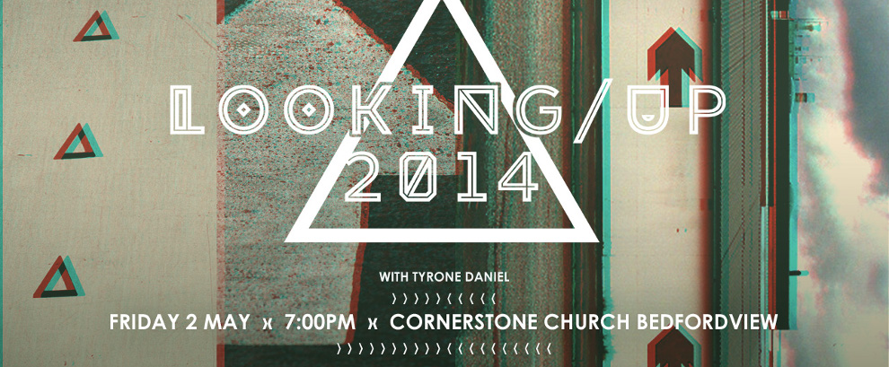 Friday, 2 May | 7PM | Cornerstone Church Bedfordview